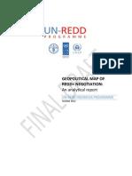 Geopolitical map of REDD+ negotiation