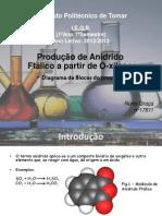 Produção de Anidrido Ftálico a partir de O-xileno (Apresentação)