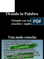 Orando La Palabra # 7 IBE Callao