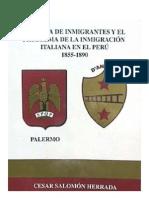 538-Historia de Inmigrantes y El Problema de La Inmigracion Italiana Al Peru 1855 - 1890