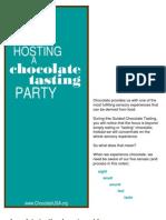 Tasting Chocolate