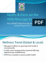 Myths & Facts on Philippine Massage Licensure Examinations Through the Department of Health