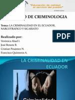 La Criminalidad en Ecuador