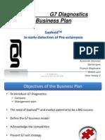 G7 Diagnostics  Business Plan