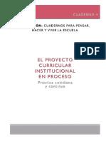 El Proyecto Curricular Institucional