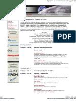 Space Investment Summit 1 Agenda - 4-16-07