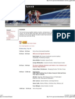 Space Investment Summit 4 Agenda - 5-28-08