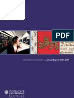 Cambridge University Library Annual Report 2008-2009
