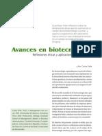 Avances en Biotecnologia