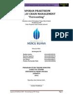 "Contoh Makalah Hasil LAPORAN PRAKTIKUM SUPPLAY CHAIN MANAGEMENT ""Forecasting"" Dalam Teknikl Industri_Rudini Mulya,dkk(2012)"