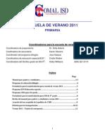 2011-Paquete de Matriculacion Escuela Primaria