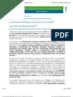 La Concepción Heredada de la Ciencia y la Tecnología, Martínez Álvarez