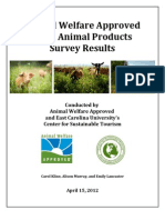 2011 Animal Products Survey