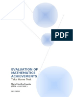 Assessment, Measurement, and Evaluation