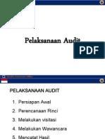 Pelaksanaan Audit