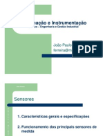 Automaçao e Instrumentaçao_Sensores e Actuadores