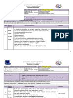 Dosificacion 1er Bim-2012