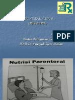 Farmasi Rs Slide Parenteral Nutrisi Ppn Tpn