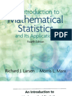 An Introduction to Mathematical Statistics and its Application