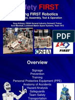 ROBOT- Manufacture, Assembly, Test & Operation