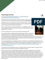 Overcoming Your Fear - E-Myth Worldwide