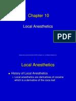 10 Local Anesthetics (1)
