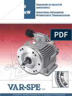 Hydromec Small Hyd Variators