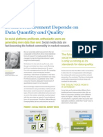 Millward Brown POV Social Measurement Depends on Data Quantity and Quality