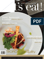 Vol-39 let's eat! Magazine