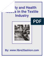 Safety & Health Issue in Textile Industry
