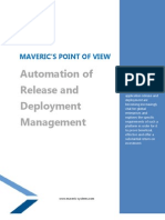 Maveric - Automation of Release and Deployment Managment