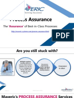 Maveric - Process Assurance Services