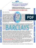 Barclays Bank United Kingdom Re Confirmation of Payment Fund