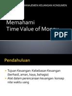 konsep uang thdp waktu