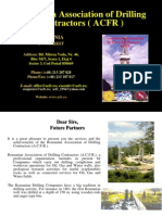 Romanian Association of Drilling Contractors ACFR