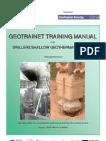 Manual Geotrainet Pentru Forajisti