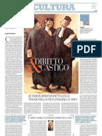 L'Idea Di Giustizia Vista Attraverso La Letteratura - La Repubblica 27.12.2012