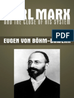 Karl Marx and the Close of His System