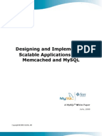 Designing and Implementing Scalable Applications with Memcached and MySQL