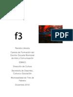 f3 Complete Primer Numero Revista Escritor