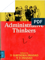 Administrative thinkers d ravindra prasad bureaucracy self administrative thinkers d ravindra prasad bureaucracy self improvement fandeluxe Choice Image
