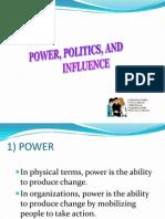 Power, Politics, Inlfuence