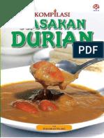 Kompilasi Masakan Durian