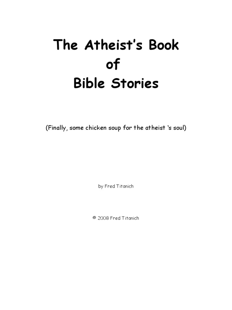 The atheists book of bible stories cain and abel adam and eve biocorpaavc