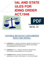 standing order