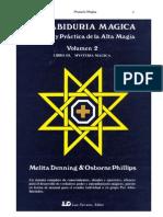 """Melita Denning & Osborne Phillips - La Sabiduría Mágica. Libro III """"Mysteria Magica"""""""
