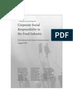 CSR in Food Industry