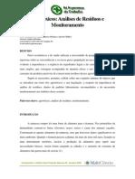 Agrotoxico- Analise de Residuos e Monitoramento