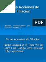 Acciones de filiación