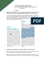 Critical Appraisal Ebm Artikel Prognosis